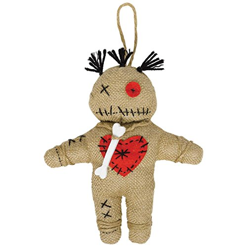 amscan Witch Doctor Voodoo Doll, Standard, Multicolor