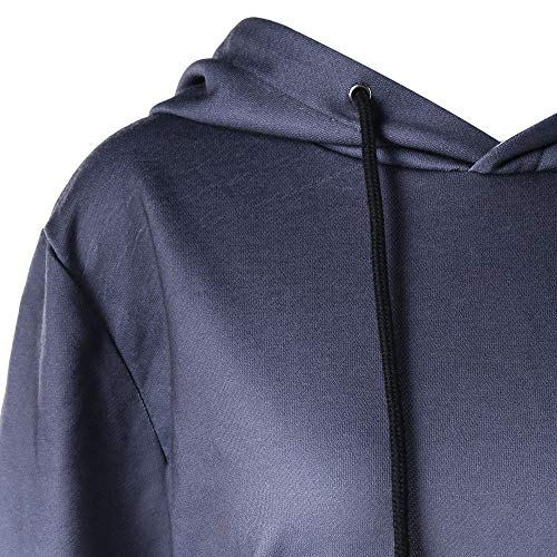 Women's Camicia Lunga Manica Clothes Gray SHOBDW Donna FE1qdFn