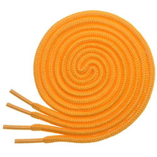 Shoe Bowling Yellow (BIRCH's Round Shoelaces 27 Colors 3/16