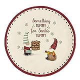 Grasslands Road, ''Santa's Tummy'' Cookie Plate