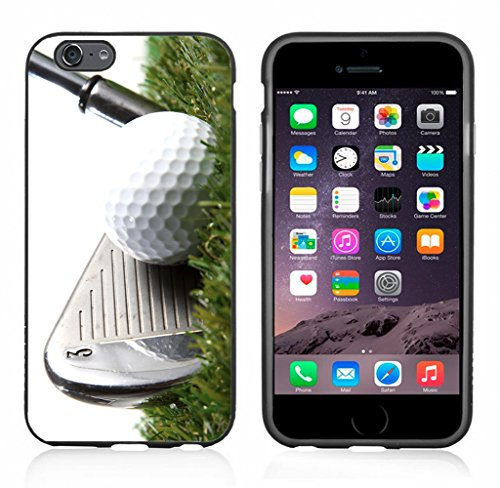 3 Iron Golf Club Hitting Golf Ball Case/Cover for iPhone 6 or 6S by Atomic Market