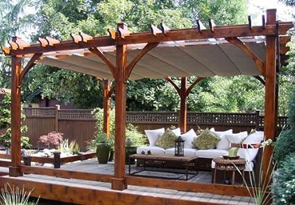 Amazon com : Outdoor Living Today Breeze Cedar 12 ft  x 20
