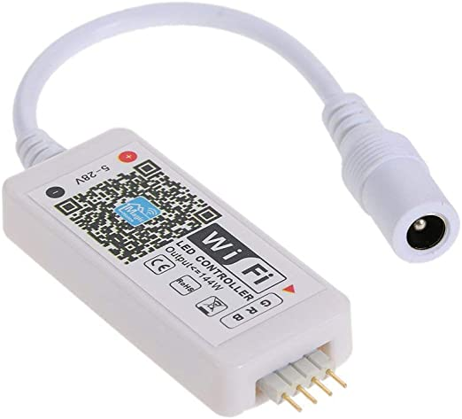 Alian T/él/écommande Full Touch Wi-FI Multicolore RGB Controller Que permettre la dimmerazione et la Gestion des Couleurs de Ampoules RGB et de r/écepteurs RGB pour Strip s/érie Mi-Light,