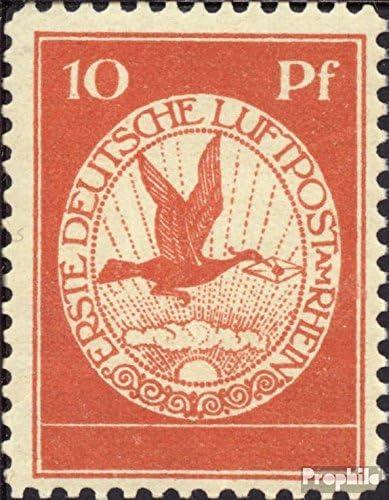 Prophila Collection alemán Imperio I 1912 Correo aéreo a Rhein y ...