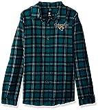 Jacksonville Jaguars 2016 Wordmark Basic Flannel Shirt - Womens Medium