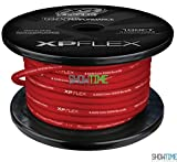 XS Power XPFLEX4RD-100 XP/XS Flex Iced Red 100' Spool High Current Battery Cable