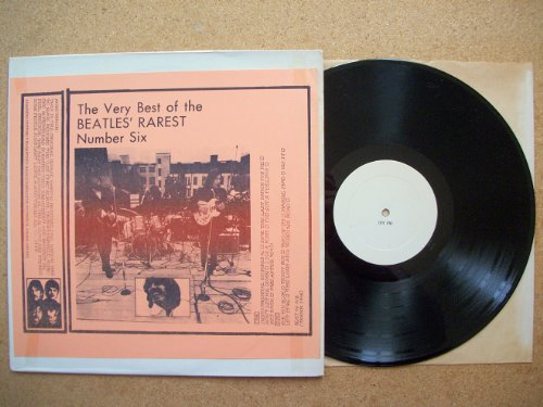 The Beatles-The Very Best Of The Beatles Rarest-Number Six (Vinyl)
