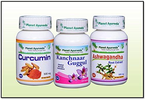 Planet Ayurveda Swollen Lymph Nodes Care Pack - Ayurvedic Remedy