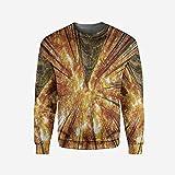 iPrint Mens Ocean Pullover Sweater