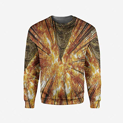 iPrint Mens Ocean Pullover Sweater by iPrint