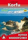 Korfu: mit Paxos und den Diapontischen Inseln. 34 Touren. Mit GPS-Tracks (Rother Wanderführer)