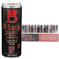 Bing Beverage Company Bing Black, 12 Fl Oz (Pack of 24)