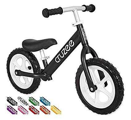 23b024a5040 Amazon.com  Cruzee Ultralite Balance Bike (4.4 lbs) for Ages 1.5 to ...