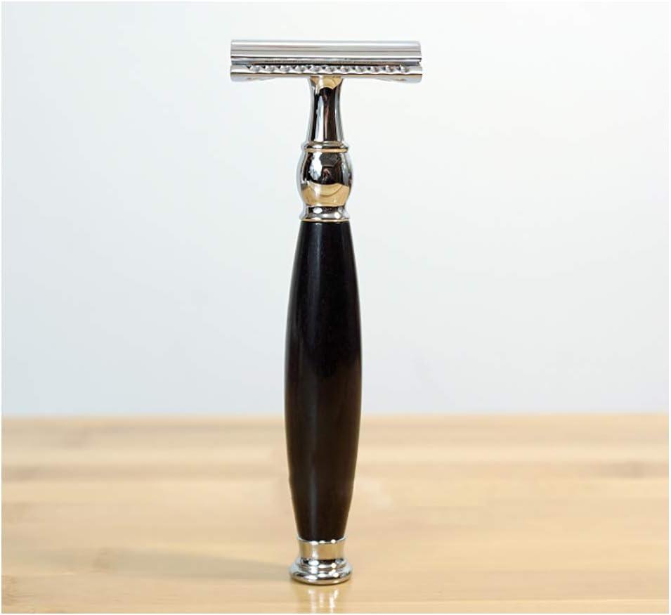 LJHLJH Maquinilla de Afeitar de Seguridad Cuchilla de Doble Cara ...