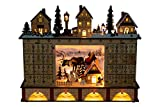 Clever Creations Traditional LED Wooden Advent