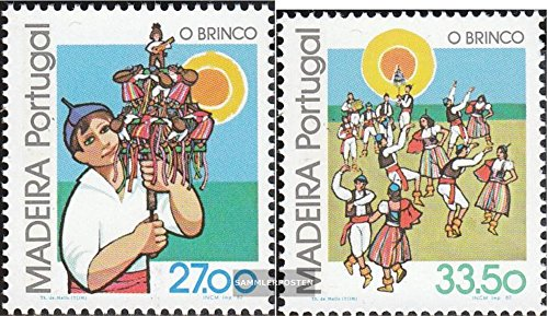 Madeira (Portugal) 82-83 (complete.issue.) 1982 Regional Folk Customs (Stamps for collectors)