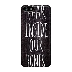 Shock-Absorbing Hard Phone Covers For Iphone 5/5s With Provide Private Custom Vivid Foo Fighters Series EricHowe