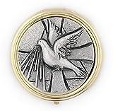 Catholic Holy Communion Pyx (Holy Spirit)