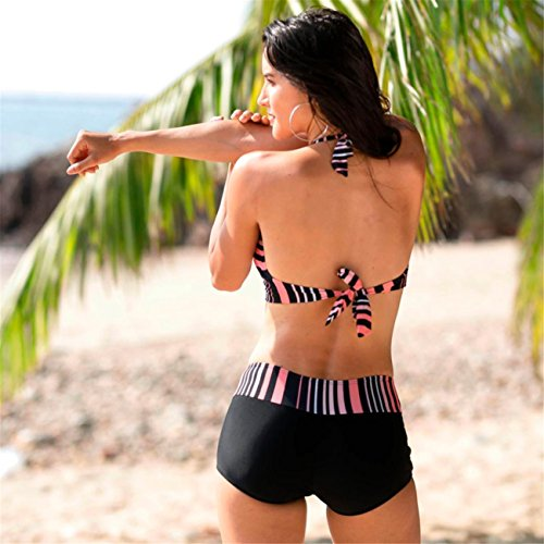 Donne Bikini Set Costumi Da Bagno Due Pezzi Costume Costumi Da Bagno Spiaggia Vestito Monokini Costume Da Beachwear Set Swimwear Spiaggia Estate Pezzi Fascia Vita Alta