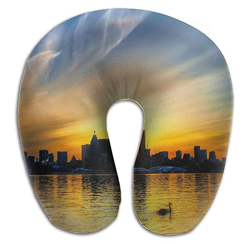 Laurel Neck Pillow CN Tower Travel U-Shaped Pillow