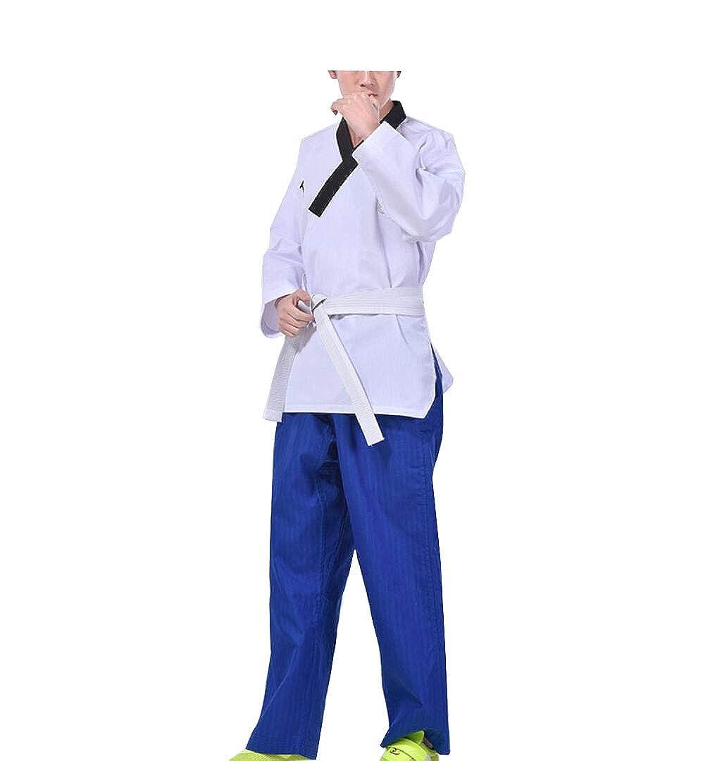 CHLXI Taekwondo Trainer Kleidung Männer und Frauen Taekwondo Kleidung Erwachsene Taekwondo Kleidung Kinder GI weiß B07GNK6D49 Sets Großer Räumungsverkauf