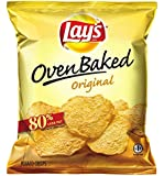 Lay's Baked Potato Crisps, Original, 1.125-Ounce Large Single Serve Bags (Pack of 64)