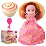 Surprise Dolls Cupcake Princess Scented,Magic Cupcake Toys for 3 year olds girls,Transform from a Cake to a Princess