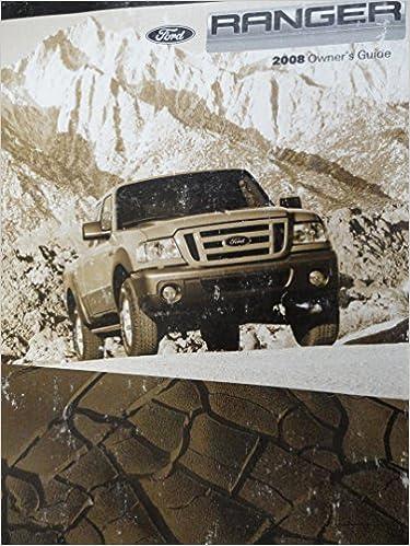2008 ford ranger user manual