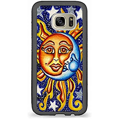 Custom Phone Cases Design for Samsung Galaxy S7 - Sun,Moon and Star back phone cases Sales