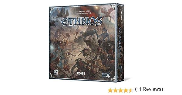 Edge Entertainment- Ethnos, Juego de Mesa (EECMET01): Amazon.es: Juguetes y juegos