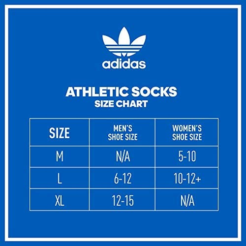 adidas Originals mens Trefoil Superlite No Show Socks (6-pair)