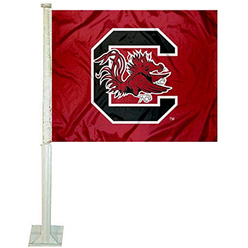 College Flags and Banners Co. South Carolina Gamecocks Car Flag
