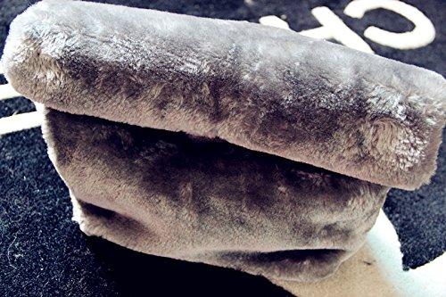 Zarapack - Borsetta senza manici donna (grigio)