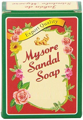 Mysore Sandal Soap 4.41 oz (125 Grams) Box, (Pack of 10)