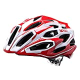 Kali Protectives Maraka Zone Road Helmet M/L RED/WHITE For Sale