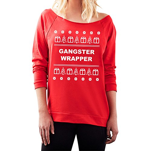 Gangster Wrapper - Off the Shoulder Tacky Christmas (Gangster Christmas Sweaters)
