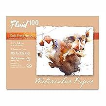 Fluid 100 Watercolor Cp 300Lb Pochette 11X14