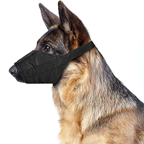 Weebo Pets Breathable Nylon Cloth Safety Muzzle (Large)