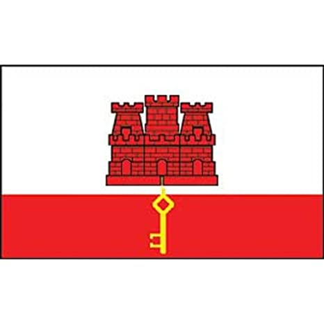 Gibilterra Findingking Flag On Stick 1016 Cm X 1524 Cm Amazonit