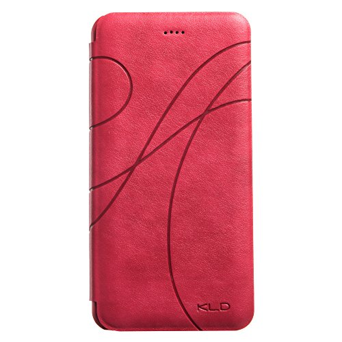 Kalaideng KLD Oscar II Series Flip PU Leather Case for iPhone 6 Plus  -  Retail Packaging  -  Pink - Kalaideng Leather Case