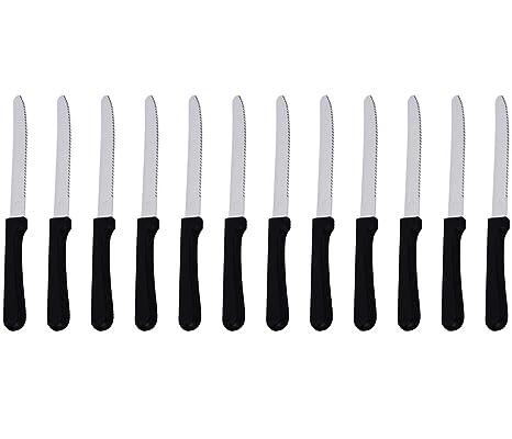 Amazon.com: 5-Inch cuchillo de carne con mango de plástico ...