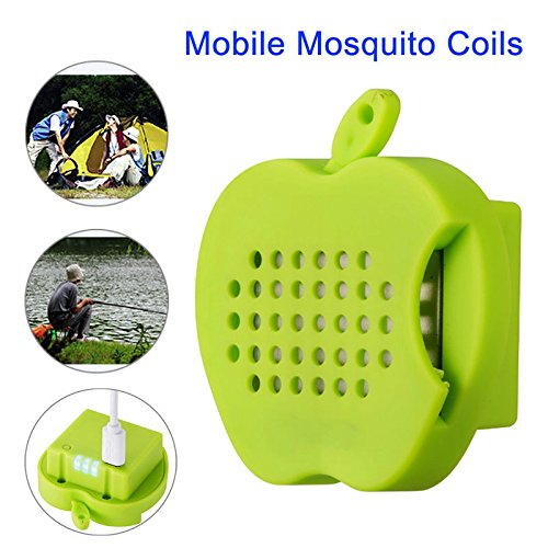 VIPASNAM-Portable Electric Insect Mosquito Killer Coil Chargebale Fr Outdoor Fish Camping
