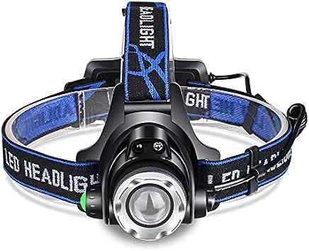 Linterna frontal LED 80000lm Faro Cuerpo Sensor de Movimiento ...
