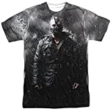 Batman Cartoon TVSeries Movie Dark Knight Rises Bane Adult 2-Sided Print T-Shirt