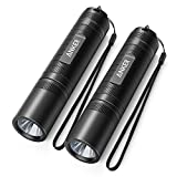 Anker Bolder LC40 LED Flashlight [2 PACK], Pocket-Sized LED Torch, Super Bright 400 Lumens CREE LED, IP65 Water Resistant, 3 Modes High/ Low/ Strobe for Indoors and Outdoors