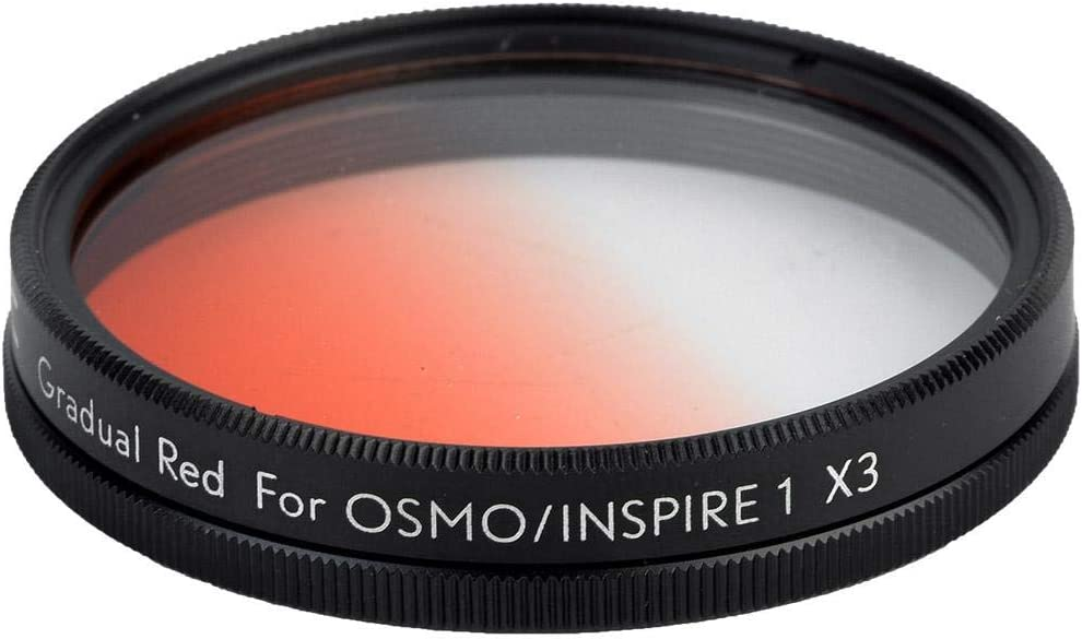 Mugast Neutral Density Lens Filter,Universal Graduated Color Filter,Aluminium Alloy Waterproof Camera Lens Filter,Professional Filter for OSMO,for Inspire 1. Blue