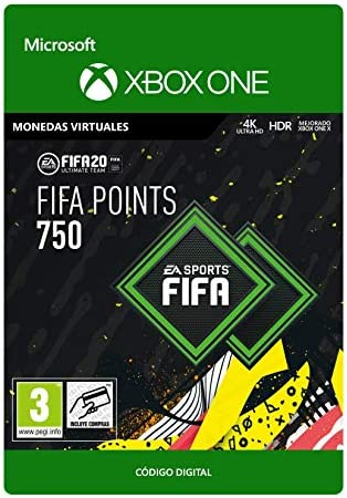 FIFA 20 Ultimate Team - 750 FIFA Points - Xbox One - Código de ...