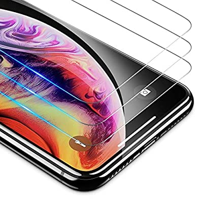 OMOTONHD TemperedGlassScreenProtectorCompatiblewith Apple iPhone Xs Max 6.5 inch [3Pack]