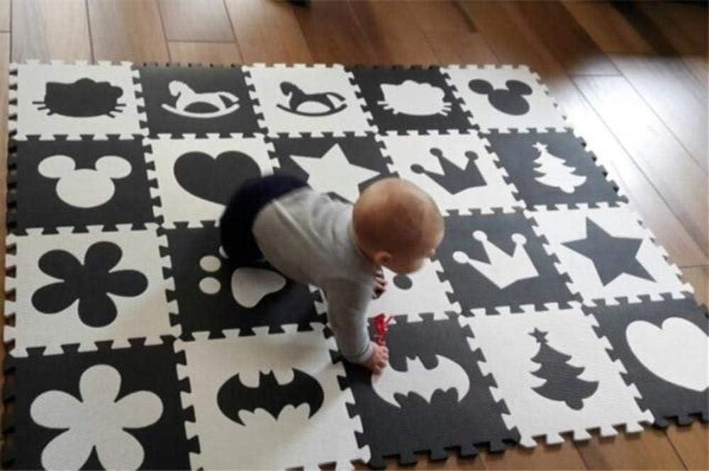 20//30Pc EVA Foam Interlocking Puzzle Exercise Mat Play Mat Floor Carpet Area Rug
