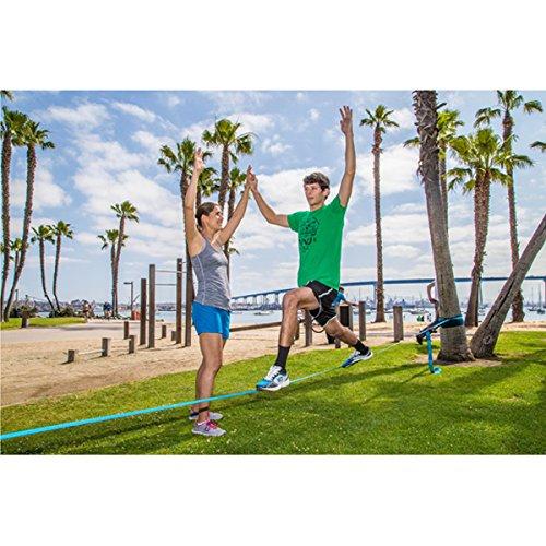 Slackline Industries 50 Foot Fitness Line Kit